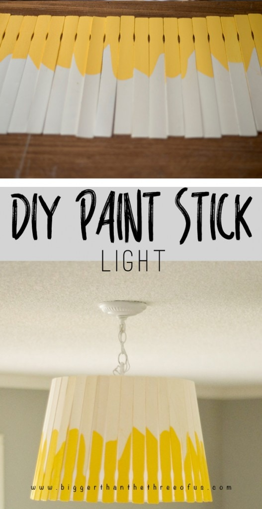 Make this Simple Paint Stick Light!