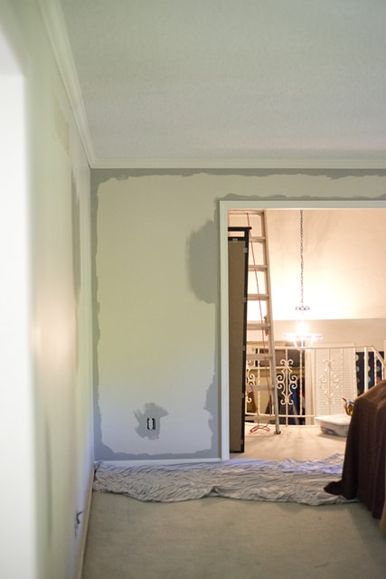 Painting gray over primer