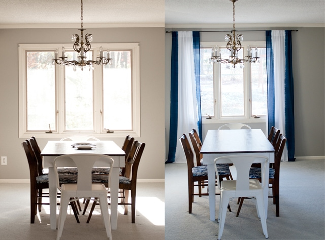 blog board before and after dining roomwp
