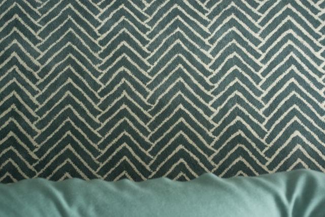 closeup of rug