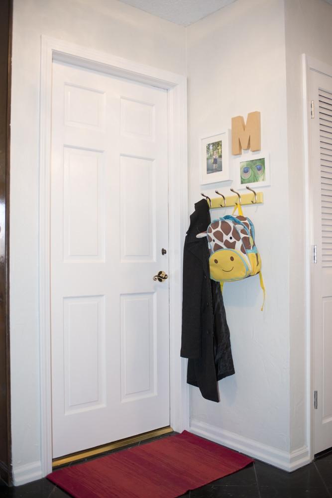 door to garage after