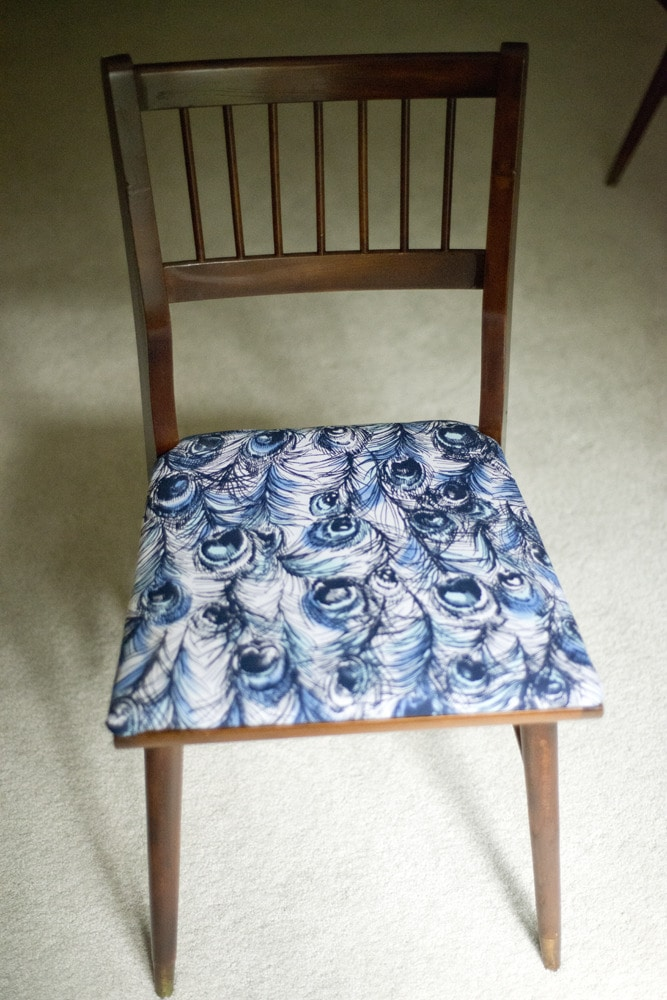 How To Update A Mid-Century Chair