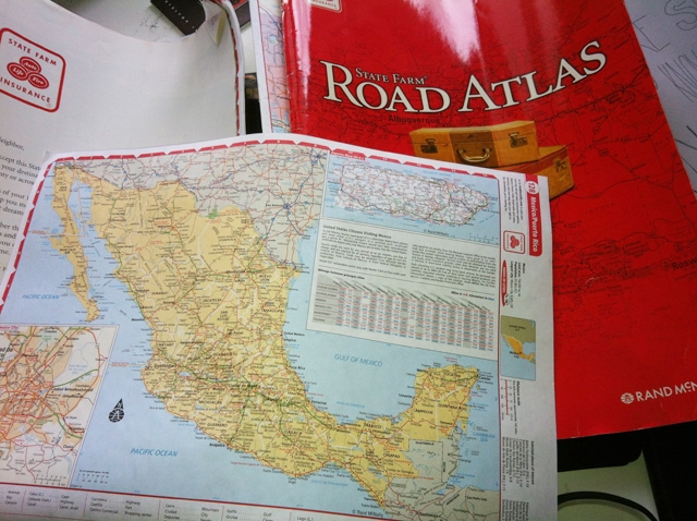 road atlas art