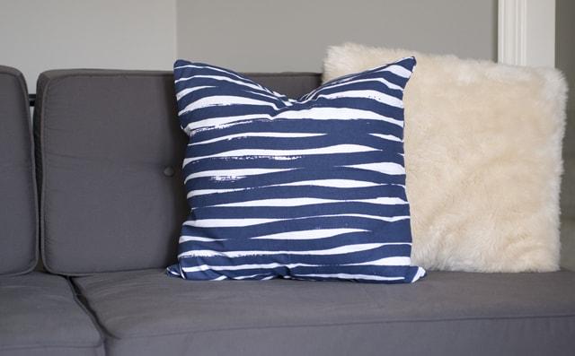 west elm diy pillow
