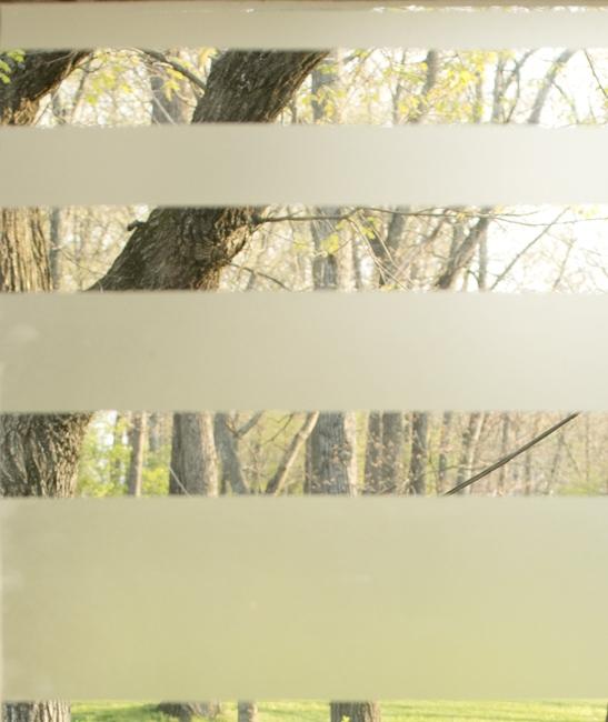 closeup of contact paper stripe