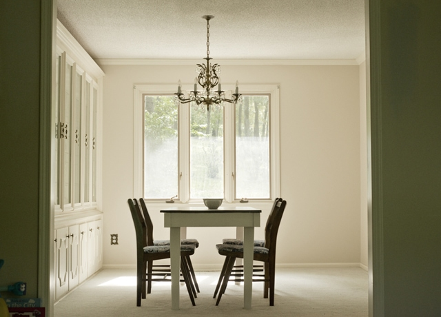The before of the Formal Dining Room