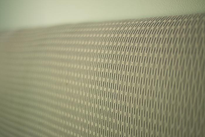 Closeup of upholstery fabric