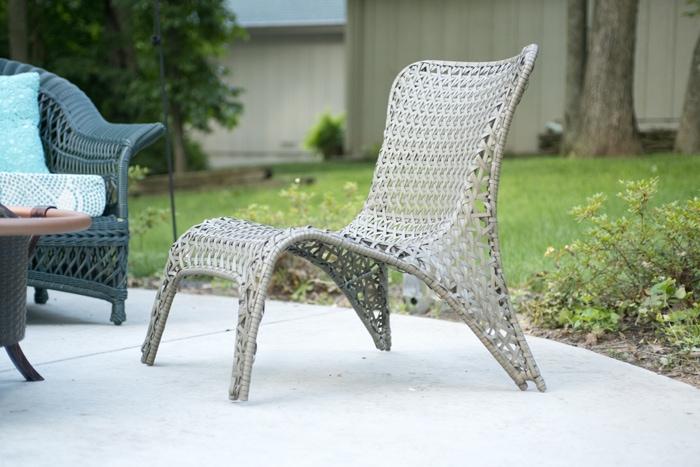 closeup of chair