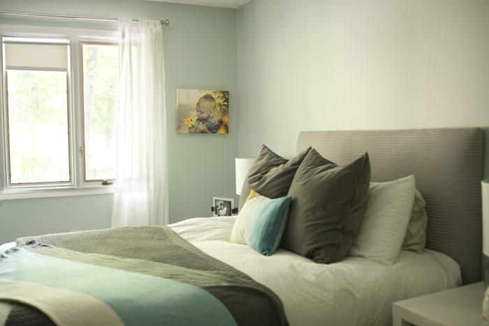 master bedroom in progres
