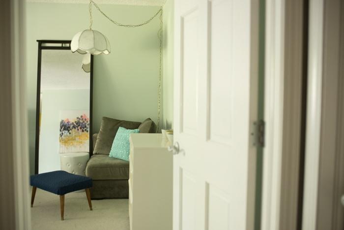 peek inside the master bedroom