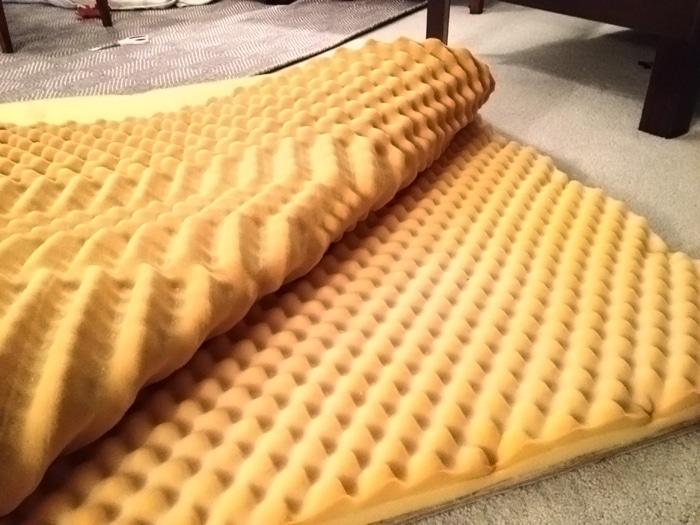 foam for headboard to make a padded headboard