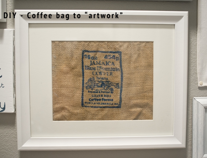 coffeebag to artwork