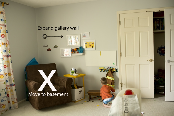 expand gallery wall