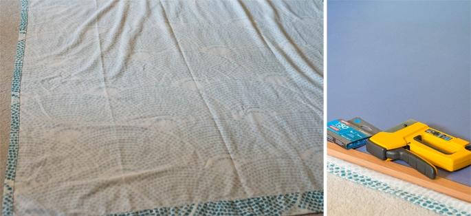 blogboard on stapling fabric