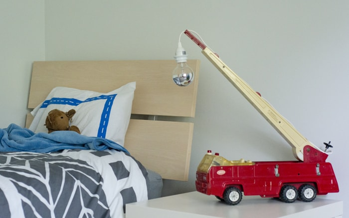 fire truck bedside light
