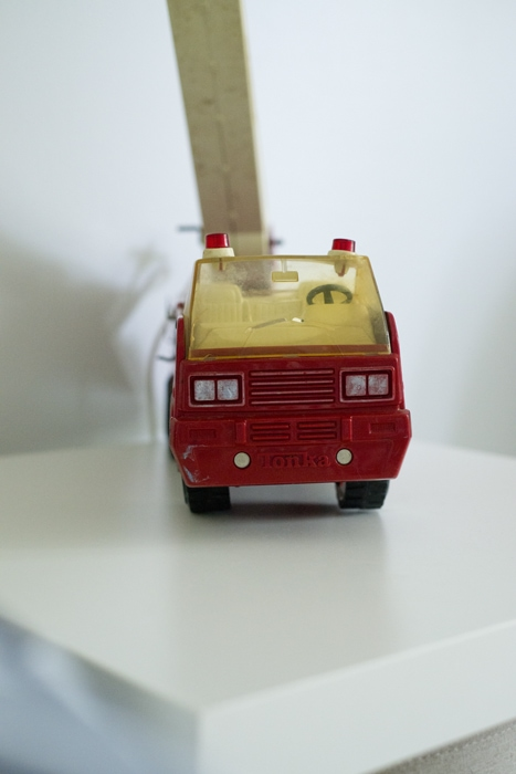 firetruck closeup lamp