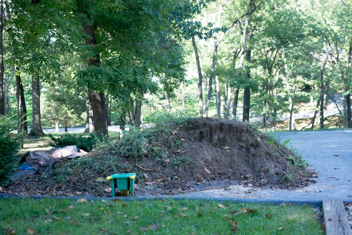 240 dollar dirt pile