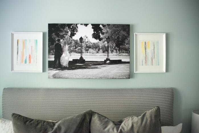 frames over bed