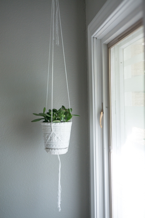 handmade string plant hanger