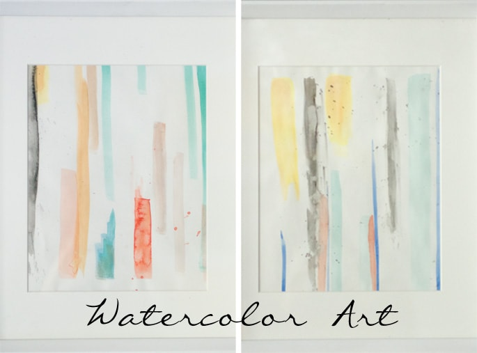 watercolor art blogboard