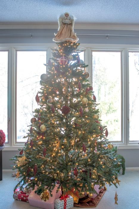 Blogger Christmas Tree decor
