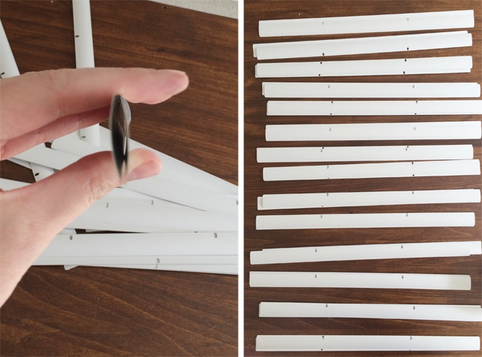 double blinds up to create depth