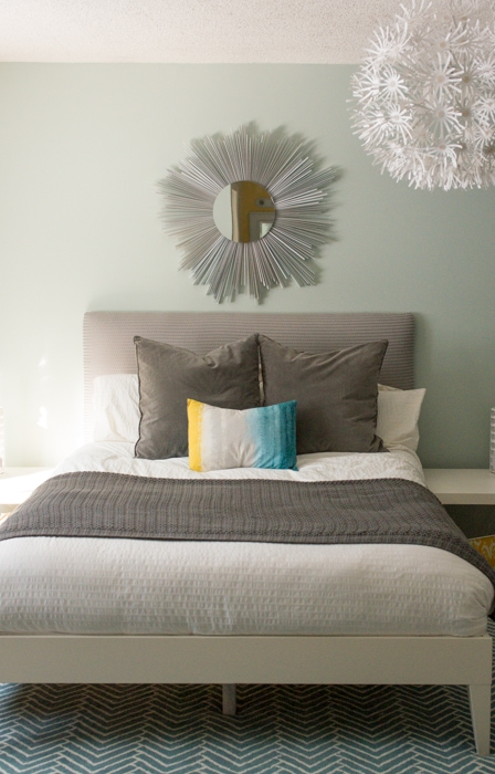 DIY Mirror and Headboard