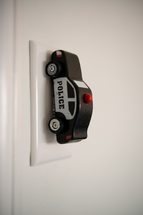DIY Car overhead light switch