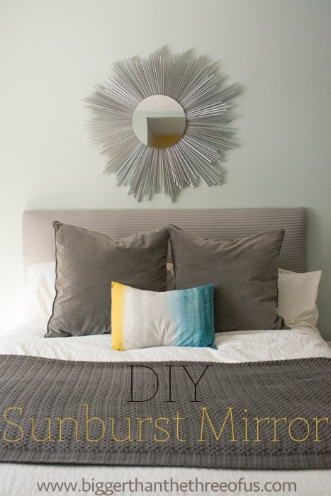 How to make a sunburst mirror under $10
