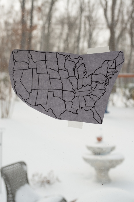 united states map DIY
