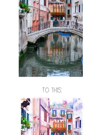 Transform travel pictures into unique pieces of Art using this simple tutorial and App
