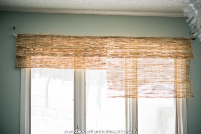 Diy Bamboo Shades For The Layered Window Quot Look Quot 10 Hack