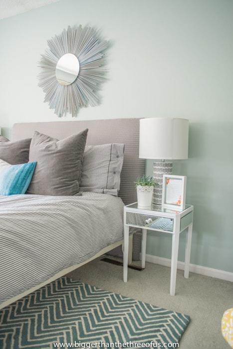 Light and Bright Master bedroom