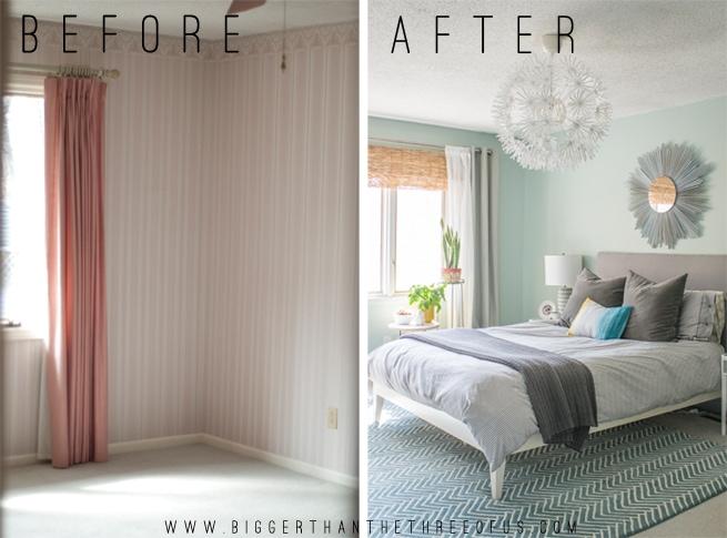Calm Layered And Minimal Master Bedroom Bigger Than The