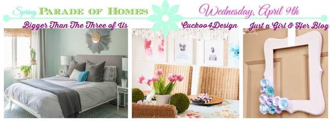 Wednesday Spring Parade of Homes