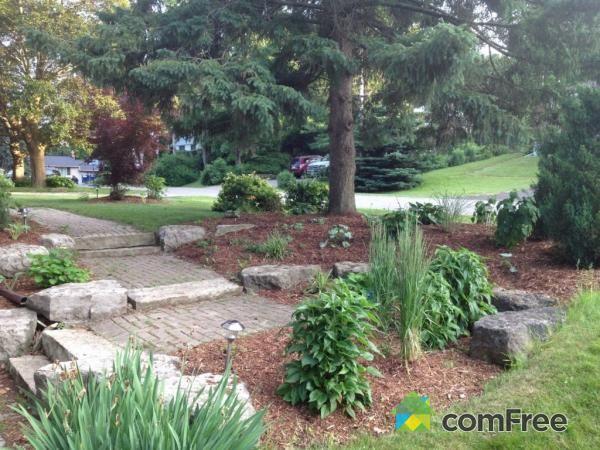Large boulders for landscaping