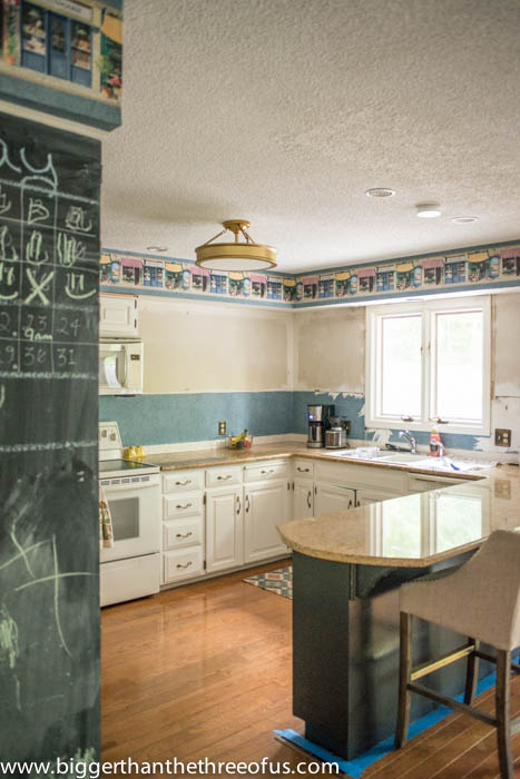 DIY Kitchen ceiling and popcorn repair