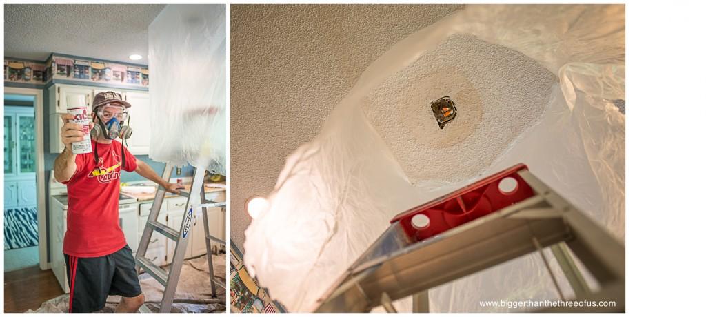 Kilz Original for stains on ceiling
