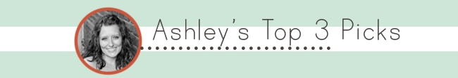 The DIYers - Ashley's Top 3 Picks
