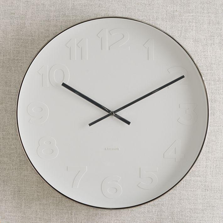 West Elm Clock