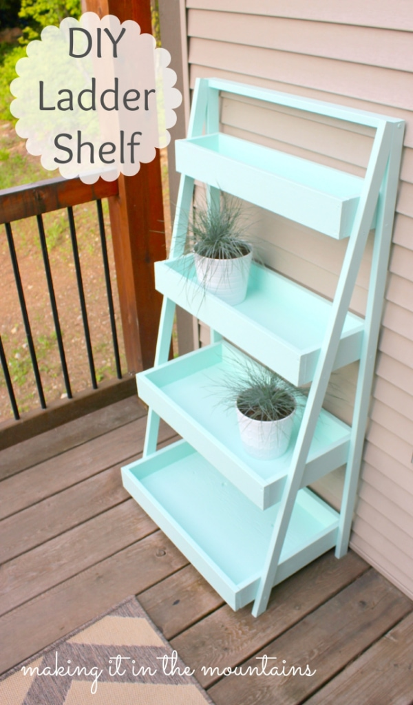 11DIY-Ladder-Shelf-@-making-it-in-the-mountains