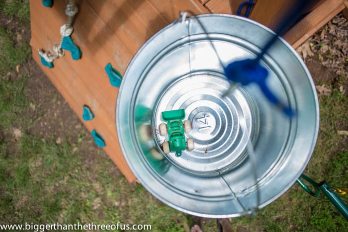 Playset Bucket and Pulley How TO