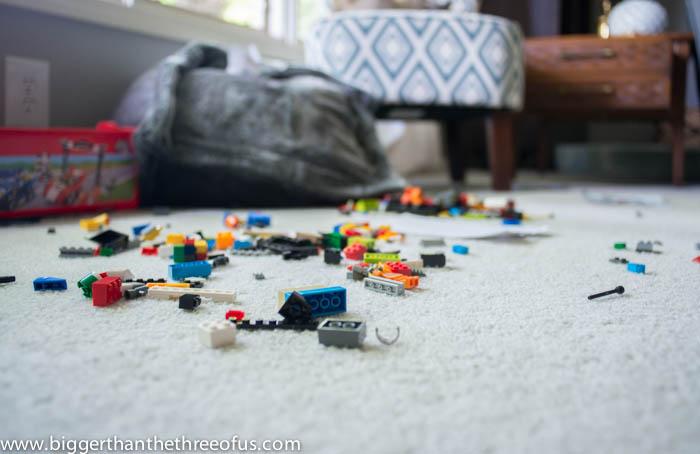 Life with a boy - legos