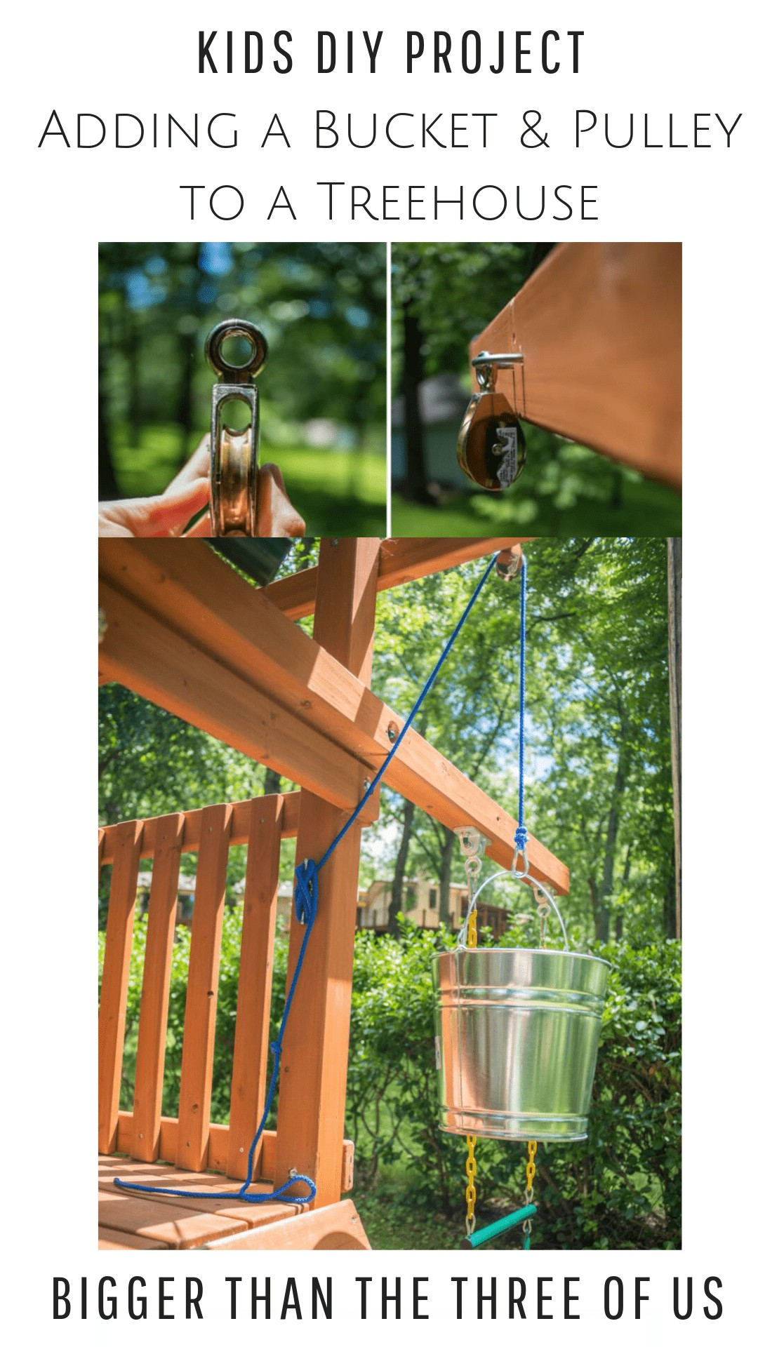 Kids Pulley Project on Treehouse