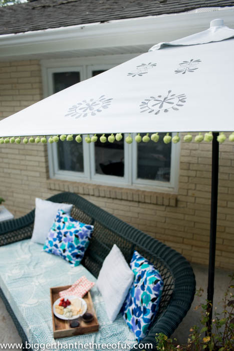 Urban Outfitters Inspired Patio Umbrella
