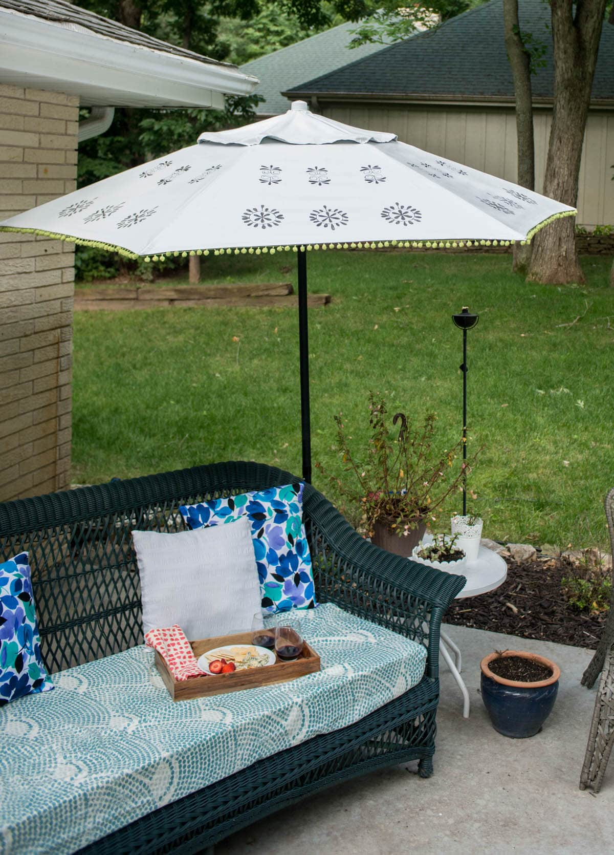 Urban Outfitters Inspired DIY Patio -2