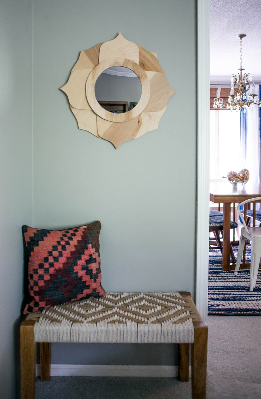 Anthropologie Knock Off Mirror By Bigger Than The Three Of Us-1