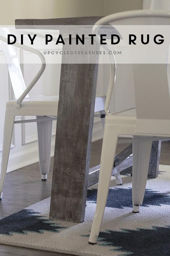 DIY-painted-navajo-style-rug-upcycledtreasures1
