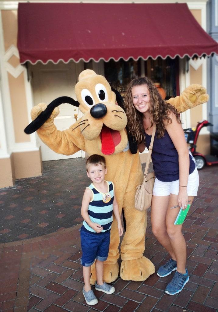 goofy at Disney