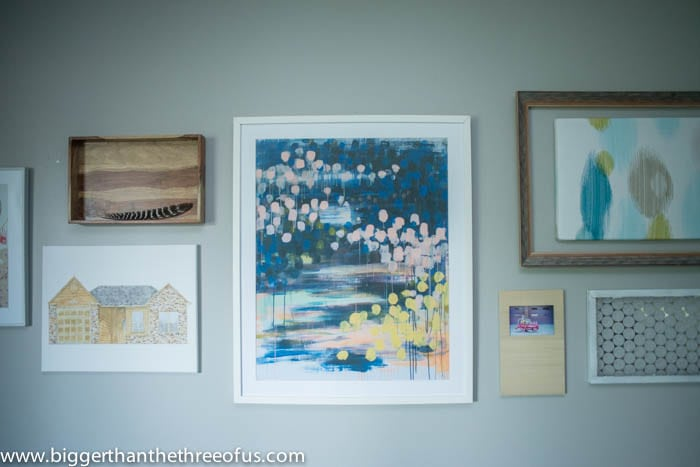 How to Create A Gallery Wall in your Living Room